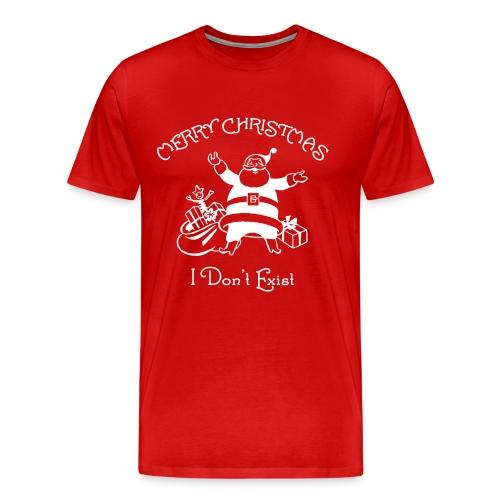 Santa Claus - I Don't Exist - Men's Premium T-Shirt