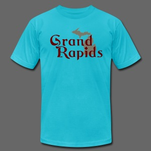Grand Rapids - Men's T-Shirt by American Apparel