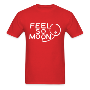 Feel So Moon White V1.1 Standard T - Men's T-Shirt