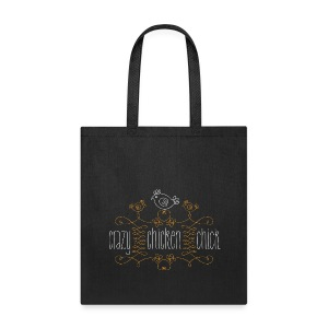 Crazy chicken chick - Tote Bag