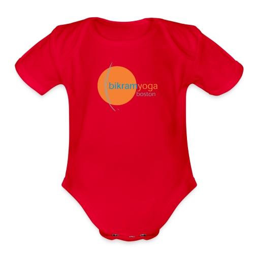 Sun & Moon - Baby - Organic Short Sleeve Baby Bodysuit
