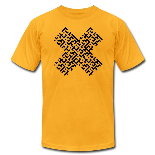 Black X - Men's Fine Jersey T-Shirt