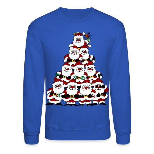 Santa Tree - Crewneck Sweatshirt