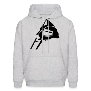 MF DOOM MASK (BLACK): HOODED - Men's Hoodie