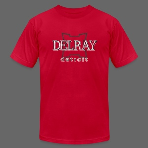 Delray, Detroit - Men's T-Shirt by American Apparel