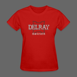 Delray, Detroit - Women's T-Shirt