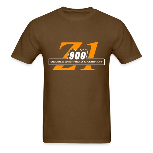 Z1 900 shirt Rootbeer & Orange - Men's T-Shirt