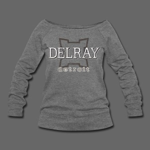 Delray, Detroit - Women's Wideneck Sweatshirt