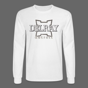 Delray, Detroit - Men's Long Sleeve T-Shirt