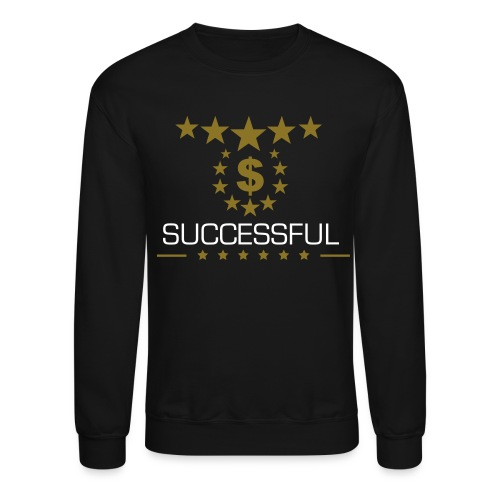 Successful : A Gold Winter Collection Crew Neck Sweater - Crewneck Sweatshirt