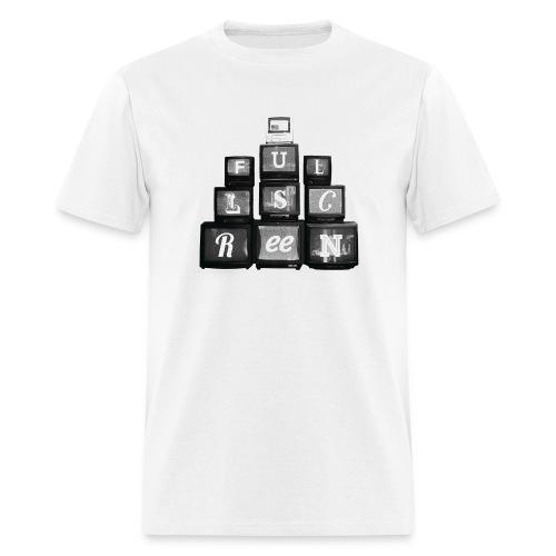 Fullscreen TVs Men's T-Shirt - Men's T-Shirt