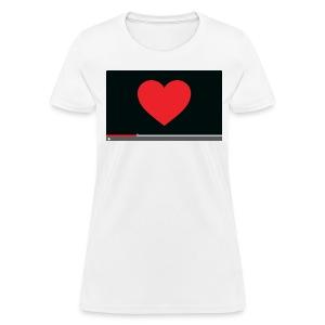 Heart Video Women's T-Shirt - Women's T-Shirt