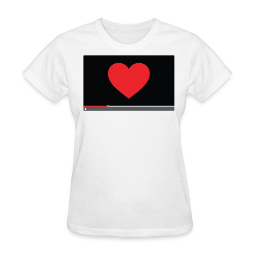 Heart Video Women's T-Shirt - Women's T-Shirt