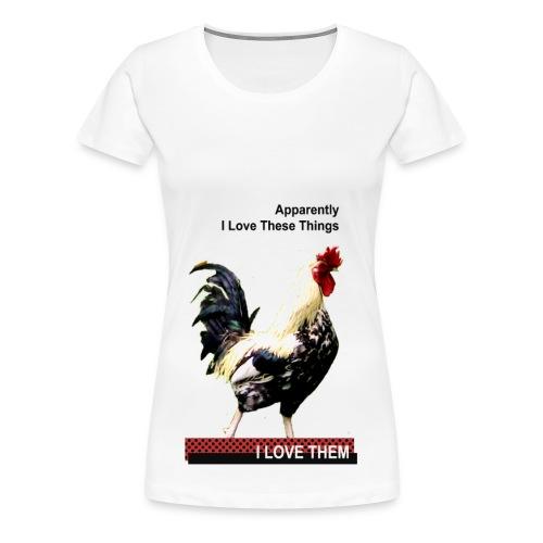 I Love Cock - Women's Premium T-Shirt