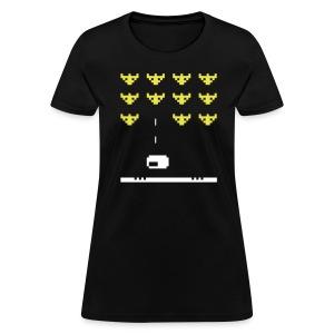 Fullscreen Invaders Women's T-Shirt - Women's T-Shirt