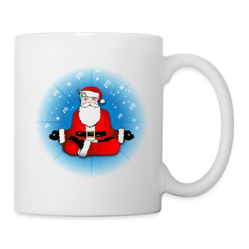 Santa's Meditation - Coffee/Tea Mug
