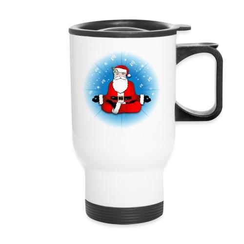 Santa's Meditation - Travel Mug