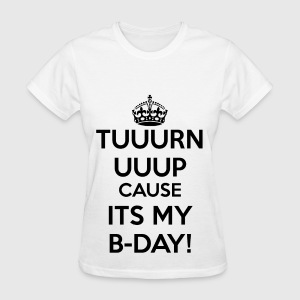 It's my birthday Women's T-Shirts - Women's T-Shirt