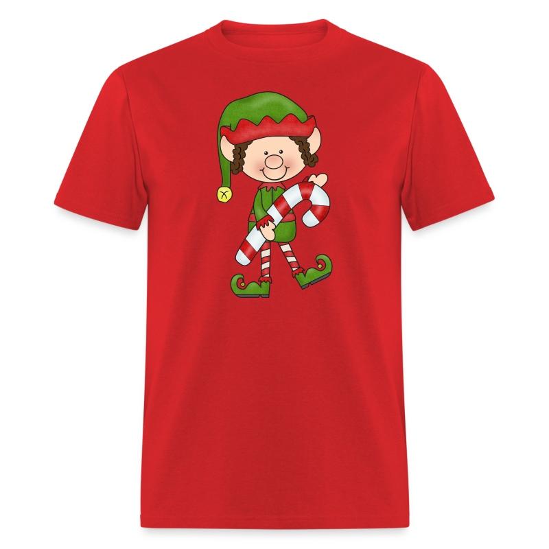 Mens Candycane Elf Christmas Shirt T-Shirt | Kreative in Kinder's ...