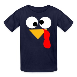 Kids Turkey Face - Kids' T-Shirt