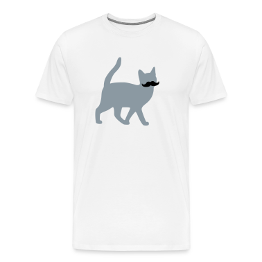 moustache cat T-Shirts