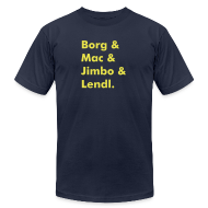 T-Shirts ~ Men's T-Shirt by American Apparel ~ Article 13982520