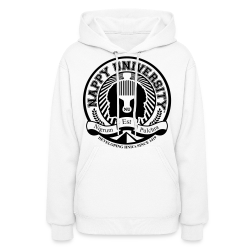 Nappy University w/Crest Women's Hooded Sweatshirt - Women's Hoodie