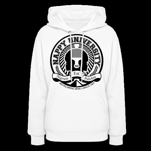 Nappy University w/Crest Women's Hooded Sweatshirt - Women's Hoodie