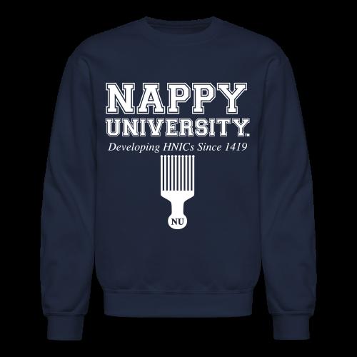 Nappy University Men's Sweatshirt - Crewneck Sweatshirt