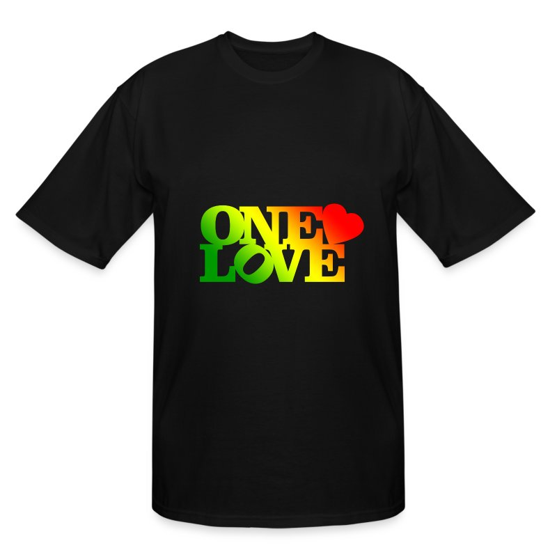 One Love Rasta - Men's Tall T-Shirt