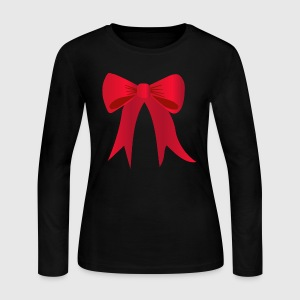 Bow - Women's Long Sleeve Jersey T-Shirt