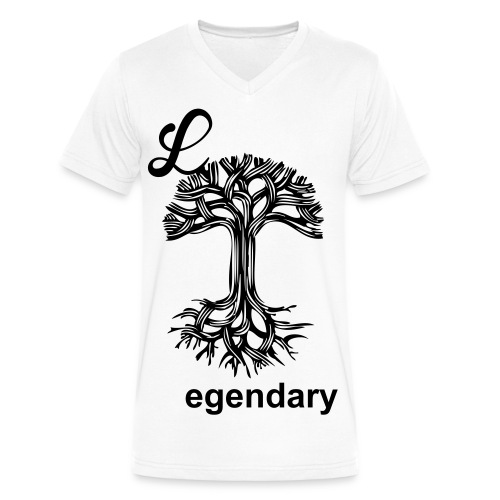 Legendary - Men's V-Neck T-Shirt by Canvas
