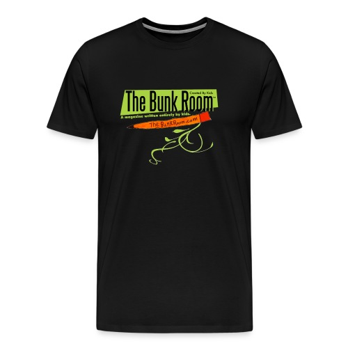 The Bunk Room Classic Tshirt w/ Pencil - Men's Premium T-Shirt