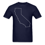T-Shirts ~ Men's T-Shirt ~ California - Oversized
