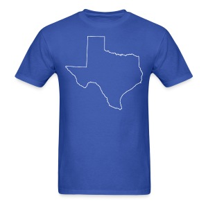 Texas - Oversized - Men's T-Shirt