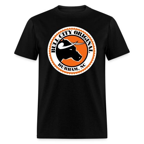 Bull City Original Seal - Men's T-Shirt