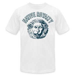 NATIVE ROYALTY - Men's T-Shirt by American Apparel