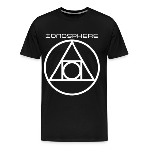IONOSPHERE Band Merch. TRI-POWER OVAL TEE - Men's Premium T-Shirt