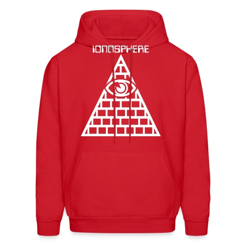 IONOSPHERE Band Merch. Red Eye Hoody - Men's Hoodie