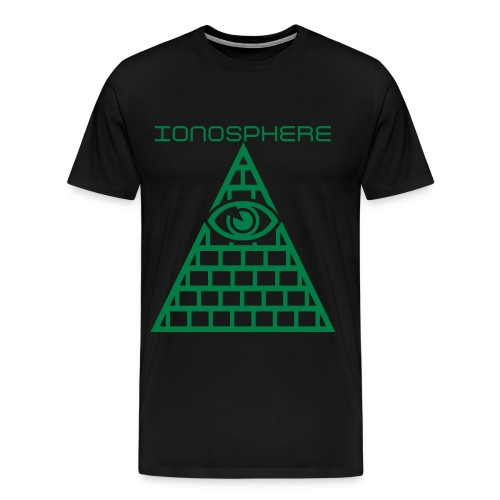 IONOSPHERE MERCH Red Eye - Men's Premium T-Shirt