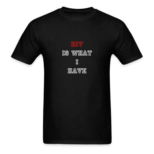 HIV T-Shirt - Men's T-Shirt