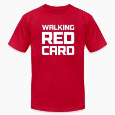 Walking Red Card Men's Tee