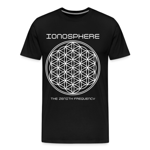 IONOSPHERE Band Merch. The Zenith Frequency tee - Men's Premium T-Shirt