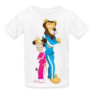 Milani and the King - Chillin' Kids T-Shirt - Kids' T-Shirt
