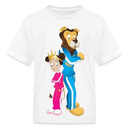Milani and the King - Chillin' Kids T-Shirt - Kids' T-Shirt