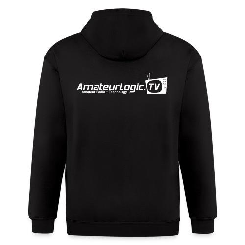 AmateurLogic Zipper Hoodie (Art on both sides) - Men's Zip Hoodie