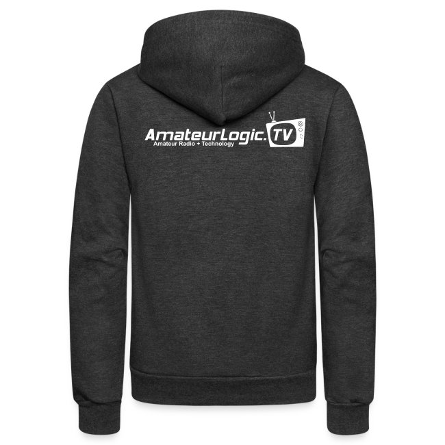AmateurLogic.TV Fleece Hoodie (Art on both sides)