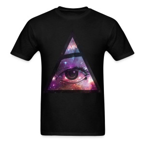 THE ALL SEEING EYE  - Men's T-Shirt