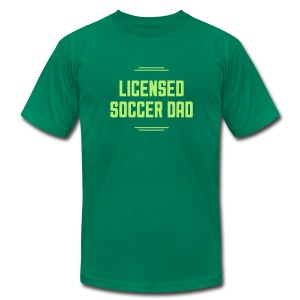 Licensed Soccer Dad Men's Tee - Men's T-Shirt by American Apparel