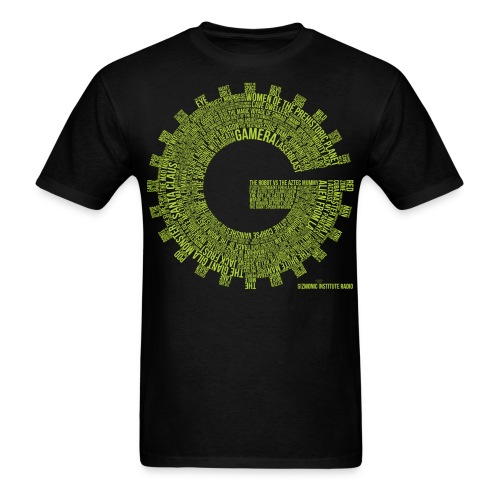 Gizmonic Institue Radio - Every Episode Tee (Green) - Men's T-Shirt